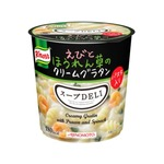 【まとめ買い】味の素 クノール スープDELI えびとほうれん草のクリームグラタン 46.2g×18カップ(6カップ×3ケース)