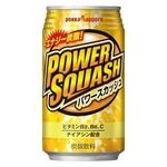 【まとめ買い】ポッカサッポロ パワースカッシュ 350ml 缶 48本入り【24本×2ケース】