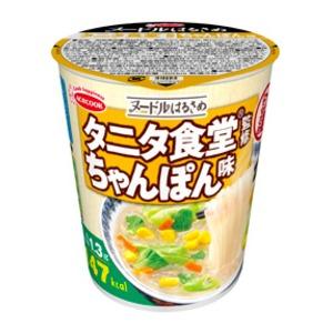 【まとめ買い】エースコック ヌードルはるさめ タニタ食堂監修 ちゃんぽん味 41g×24カップ(6カップ×4ケース)
