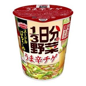 【まとめ買い】エースコック ヌードルはるさめ 1/3日分の野菜 うま辛チゲ 44g×24カップ(6カップ×4ケース)