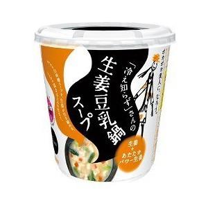 【まとめ買い】永谷園 「冷え知らず」さんの生姜 豆乳鍋カップスープ 29.5g×24カップ(6カップ×4ケース)