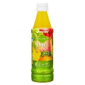 【まとめ買い】伊藤園 ビタミンフルーツ 熟ミックス PET 350g×48本(24本×2ケース)