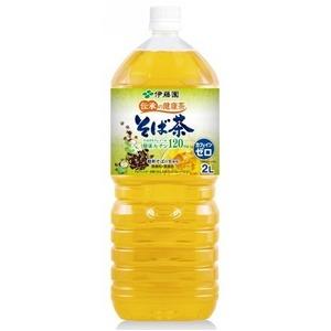 【まとめ買い】伊藤園 伝承の健康茶 そば茶 ペットボトル 2.0L×12本【6本×2ケース】