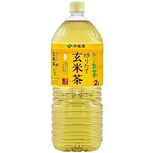 【まとめ買い】伊藤園 おーいお茶 抹茶入り玄米茶 ペットボトル 2.0L×12本(6本×2ケース)