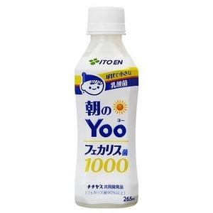 【まとめ買い】伊藤園 朝のYoo(ヨー)フェカリス菌1000 PET 265ml×48本(24本×2ケース)