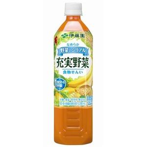 【まとめ買い】伊藤園 充実野菜 シリアルミックス(野菜とシリアル) PET 930g×12本(1ケース)