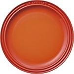 ル・クルーゼ (Le Creuset)  ラウンドプレート・LC 23cm オレンジ
