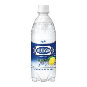 【まとめ買い】アサヒ ウィルキンソン タンサン レモン ペットボトル 500ml×48本(24本×2ケース)