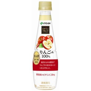 【まとめ買い】伊藤園 ビタミンフルーツ りんごMix PET 340g×48本(24本×2ケース)