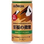 【まとめ買い】コカ・コーラ ジョージア エメラルドマウンテンブレンド 至福の微糖 缶 185g×60本(30本×2ケース)