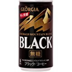 【まとめ買い】コカ・コーラ ジョージア エメラルドマウンテンブレンド ブラック 缶 185g×30本(1ケース)