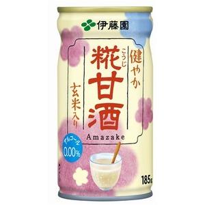 【まとめ買い】伊藤園 健やか 糀甘酒 缶 185g×30本(1ケース)