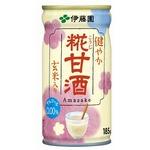 【まとめ買い】伊藤園 健やか 糀甘酒 缶 185g×60本(30本×2ケース)