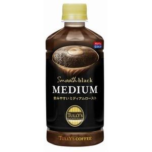 【まとめ買い】伊藤園 TULLY'S COFFEE Smooth black MEDIUM ペットボトル 500ml×48本(24本×2ケース)