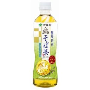 【まとめ買い】伊藤園 伝承の健康茶 健康焙煎 そば茶 500ml×24本(1ケース) ペットボトル