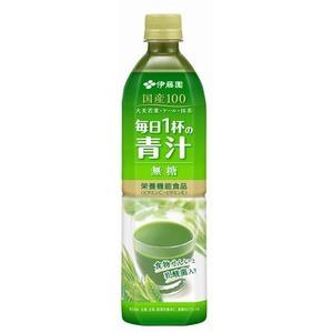 【まとめ買い】伊藤園 毎日1杯の青汁 無糖 PET 900g×12本(1ケース)