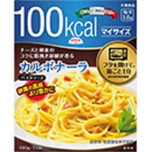 【まとめ買い】大塚食品 100kcalマイサイズ カルボナーラ 100g 30個(1ケース)