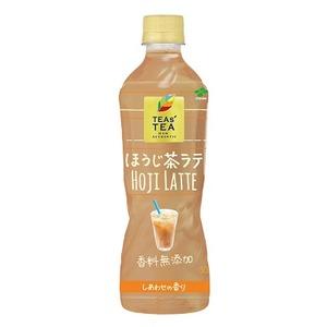 【まとめ買い】伊藤園 TEAs'TEA NEW AUTHENTIC ほうじ茶ラテ PET 500ml×48本(24本×2ケース)