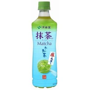 【まとめ買い】伊藤園 氷水出し 抹茶入り おーいお茶 ペットボトル 525ml×48本(24本×2ケース)