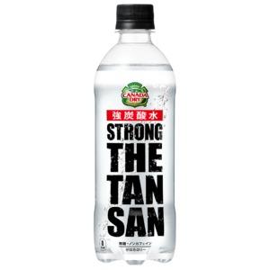 【まとめ買い】コカ・コーラ カナダドライ ザ・タンサン・ストロング  ペットボトル 490ml×48本(24本×2ケース)