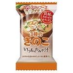 【まとめ買い】アマノフーズ いつものおみそ汁 3種のきのこ 8.5g(フリーズドライ) 10個