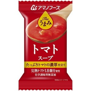 【まとめ買い】アマノフーズ Theうまみ トマトスープ 12.5g(フリーズドライ) 60個(1ケース)