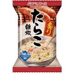 【まとめ買い】アマノフーズ 炙りたらこ雑炊 21g(フリーズドライ) 36個(1ケース)