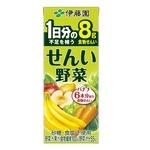 【まとめ買い】伊藤園 せんい野菜 紙パック 200ml×48本(24本×2ケース)