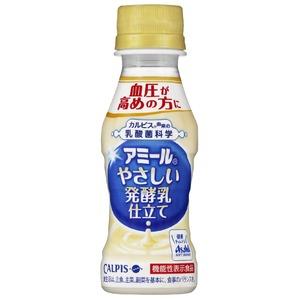 【まとめ買い】カルピス 「アミール」やさしい発酵乳仕立て PET 100ml×60本(30本×2ケース)