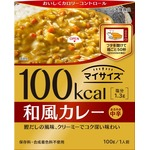【まとめ買い】大塚食品 100kcalマイサイズ 和風カレー 100g 10個