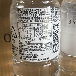 【飲料水】Bottle Water (ボトル ウォーター) PET 500ml×48本 (24本×2ケース)