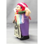 【エケコ人形15cm】 エケコ人形・色はパープル(紫色) (ペルー直輸入)