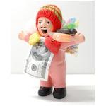 【エケコ人形15cm】桜・うすピンク色 女性に人気!★今だけ!ワイルーロの実 プレゼント中!(ペルー直輸入)