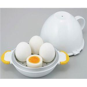 レンジでらくチン ゆで卵 4個用