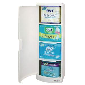 シンカテック トイレ収納ケース シングルタイプ