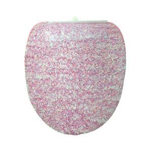 ヨコヅナ(旧:横綱工業) トイレフタカバー キャンディフロス 洗浄便座用 ピンク