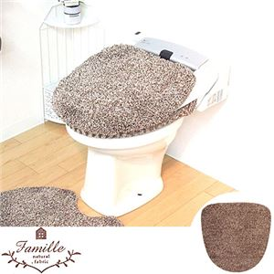 オカトー ファミーユ 洗浄・暖房便座用フタカバー ブラウン