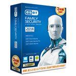 キヤノンITソリューションズ ESET ファミリー セキュリティ 2014 3年版 CITS-ES07-006
