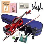 Hallstatt エレキヴァイオリン 教則本&DVD付き13点セット EV-30/TRD スルーレッド