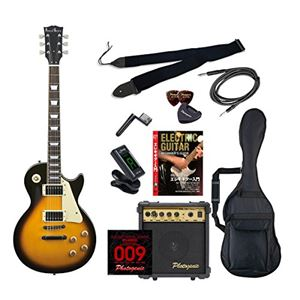 PG エレキギター 初心者入門エントリーセット レスポールタイプ LP-260/BS ブラウンサンバースト