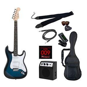 PG エレキギター 初心者入門ライトセット ストラトキャスタータイプ ST-180/BLS ブルーサンバースト