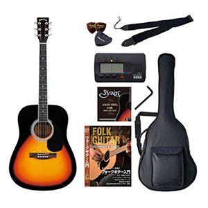 Sepia Crue アコースティックギター バリューセット ウェスタンタイプ WG-10/VS ヴィンテージサンバースト