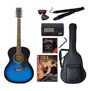 Sepia Crue アコースティックギター バリューセット フォークタイプ FG-10/BLS ブルーサンバースト