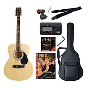 Sepia Crue アコースティックギター バリューセット フォークタイプ FG-10/N ナチュラル