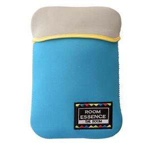 エコロジー湯たんぽ/防寒グッズ 【ブルー】 繰り返し使える 洗える専用カバー 〔寒さ対策 防寒具 冷え対策 アウトドア〕