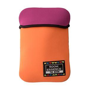 エコロジー湯たんぽ/防寒グッズ 【オレンジ】 繰り返し使える 洗える専用カバー 〔寒さ対策 防寒具 冷え対策 アウトドア〕