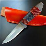 佐治武士 こいのぼり 鯉鱗 黒 和式ナイフ