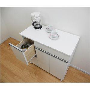 ダストボックス(キッチンごみ箱)4杯 ホワイト