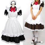赤リボン レディーメイド服セット★クラシカルセパレート/ブラックLサイズ