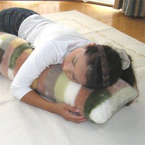 姫のムートン抱き枕【サイズ】30X90(cm)
